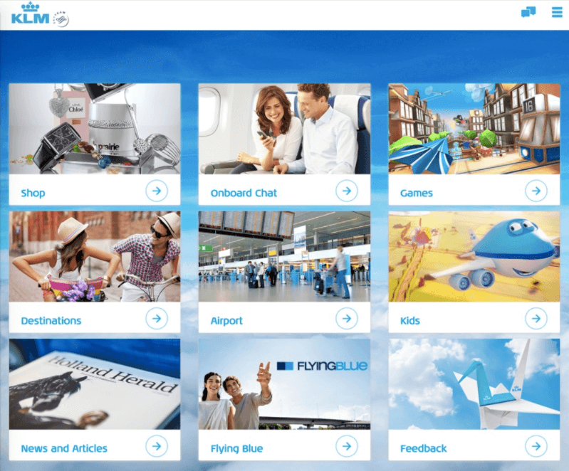 Creating digital touch point in the most important part of airline customer digital journey