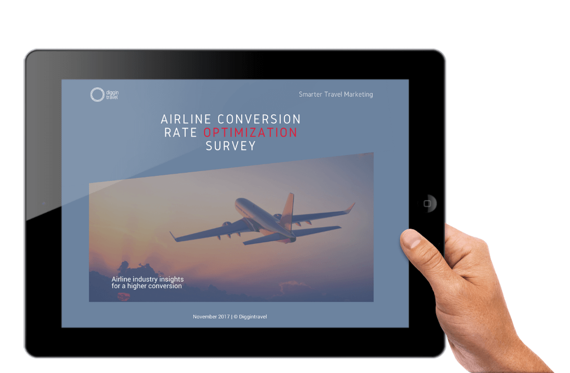 First ever airline conversion optimization survey and benchmarks