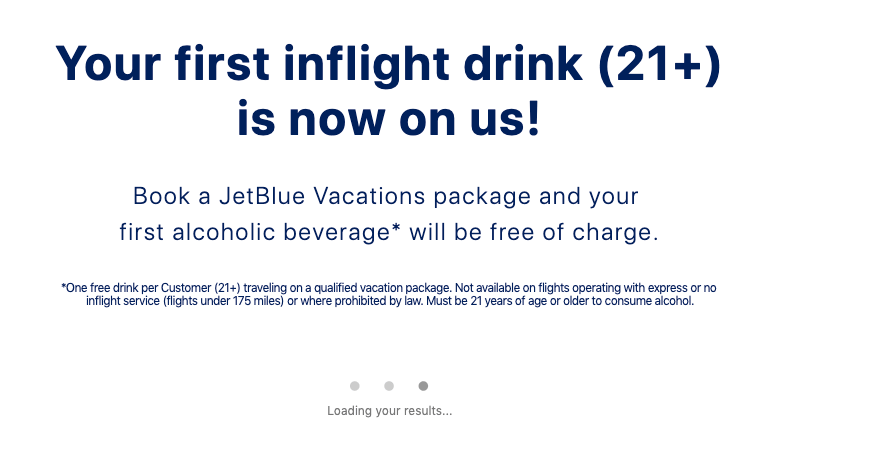 JetBlue airline cross-selling hotels - value proposition example 3