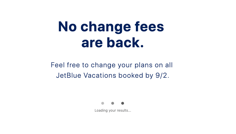 JetBlue airline cross-selling hotels - value proposition example 6