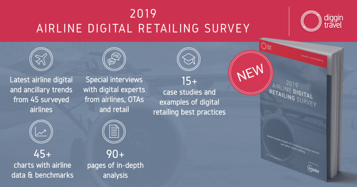 Diggintravel 2019 Digital Retailing survey brings you the latest airline industry trends