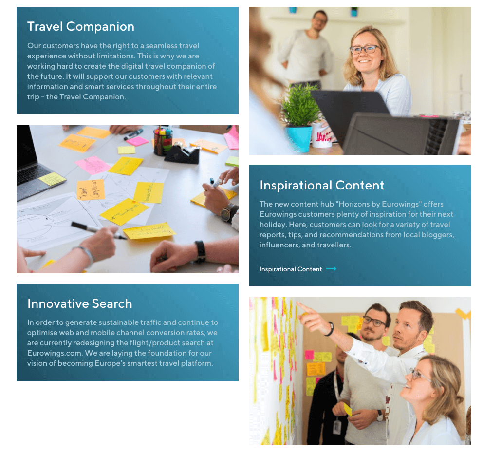 Eurowings airline digital transformation vision
