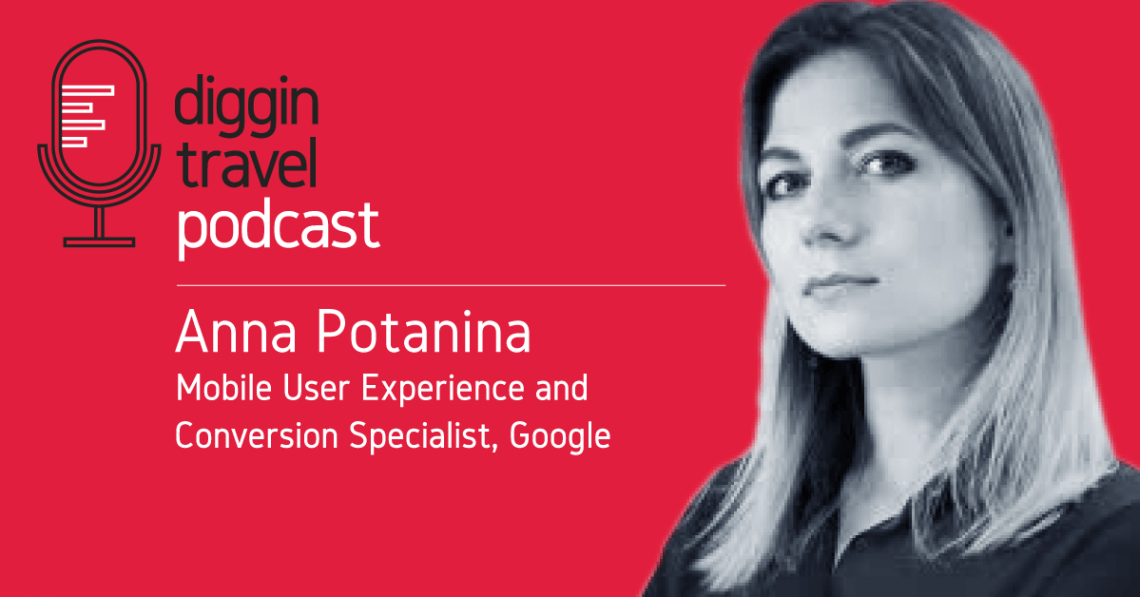 Anna Potanina, Digital Expert from Google talks about airline mobile UX design and CRO